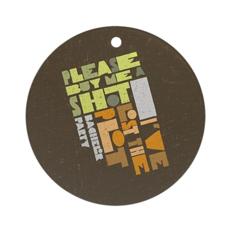 Retro Lost the Plot Ornament (Round)