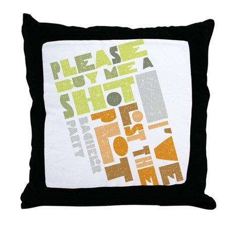 Retro Lost the Plot Throw Pillow