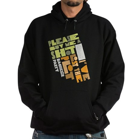 Retro Lost the Plot Hoodie (dark)