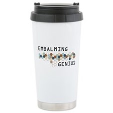 Embalming Genius Ceramic Travel Mug