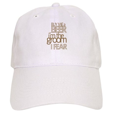 Buy Me a Beer Groom Cap