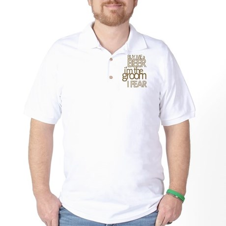 Buy Me a Beer Groom Golf Shirt