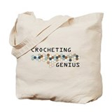 Crocheting Genius Tote Bag