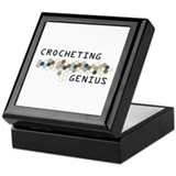 Crocheting Genius Keepsake Box