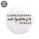 "Choreography Genius 3.5"" Button (10 pack)"