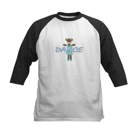 Dance Bear Kids Baseball Jersey