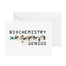 Biochemistry Genius Greeting Cards (Pk of 20)