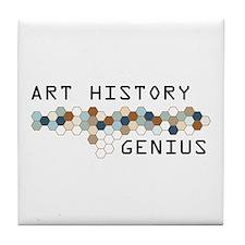 Art History Genius Tile Coaster