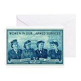 Funny Military and patriotism Greeting Card