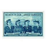 Cute Military service Postcards (Package of 8)