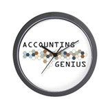 Accounting Genius Wall Clock