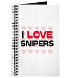 I LOVE SNIPERS Journal