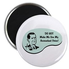 "Accountant Voice 2.25"" Magnet (100 pack)"