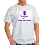The face of pediatric Stroke Tee-Shirt