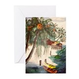 """Tropical Getaway"" Greeting Cards (Pk of 10)"