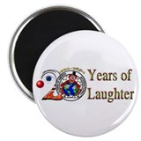 COAI 20 Years of Laughter Magnet