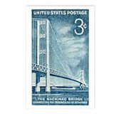 Unique Bridges Postcards (Package of 8)