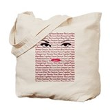 Eyes & Lips Tote Bag