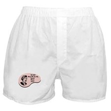 Squash Player Voice Boxer Shorts