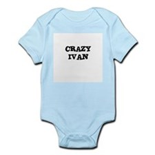 CRAZY IVAN Infant Creeper