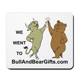 Bull And Bear Gifts Sample of Mousepad