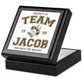 Twilight Team Jacob Keepsake Box