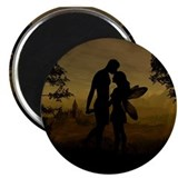 "Forbidden Love 2.25"" Magnet (10 pack)"