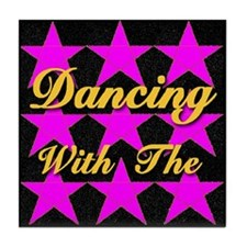 Dancing With The Stars Tile Coaster