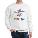 SEABEE/HONEYBEE DESIGN Sweatshirt