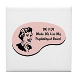 Psychologist Voice Tile Coaster