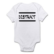 Distract Triplets Infant Bodysuit