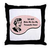 Paramedic Voice Throw Pillow