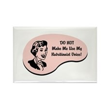Nutritionist Voice Rectangle Magnet (10 pack)