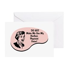 Nuclear Physicist Voice Greeting Card