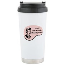 Microbiologist Voice Ceramic Travel Mug