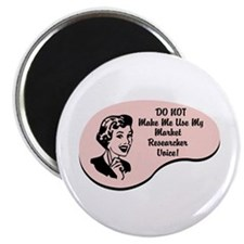 "Market Researcher Voice 2.25"" Magnet (100 pack)"