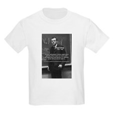 Paul Dirac Quantum Theory Kids T-Shirt