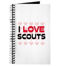 I LOVE SCOUTS Journal