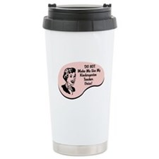 Kindergarten Teacher Voice Ceramic Travel Mug