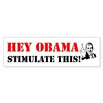 Hey Obama Stimulate This Bumper Sticker (50 pk)