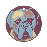 Mastiff - Ornament (Round)
