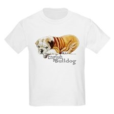 Bulldog Puppy Kids T-Shirt