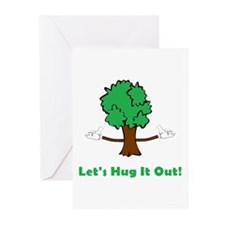 Tree Hugger Greeting Cards (Pk of 10)