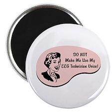 """EEG Technician Voice 2.25"""" Magnet (100 pack)"""