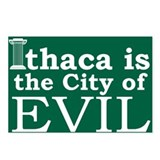 Cute Ithaca Postcards (Package of 8)