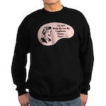 Compliance Person Voice Sweatshirt (dark)