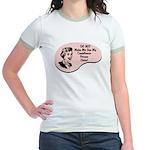 Compliance Person Voice Jr. Ringer T-Shirt
