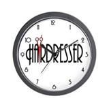 Hairdresser Wall Clock