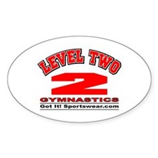 Level 2 Oval Decal
