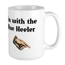 I'm with the Blue Heeler Mug